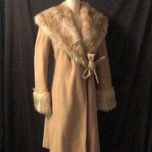 Lambswool Overcoat